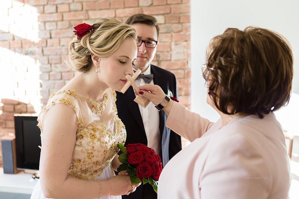 błogosławieństwo weselne
